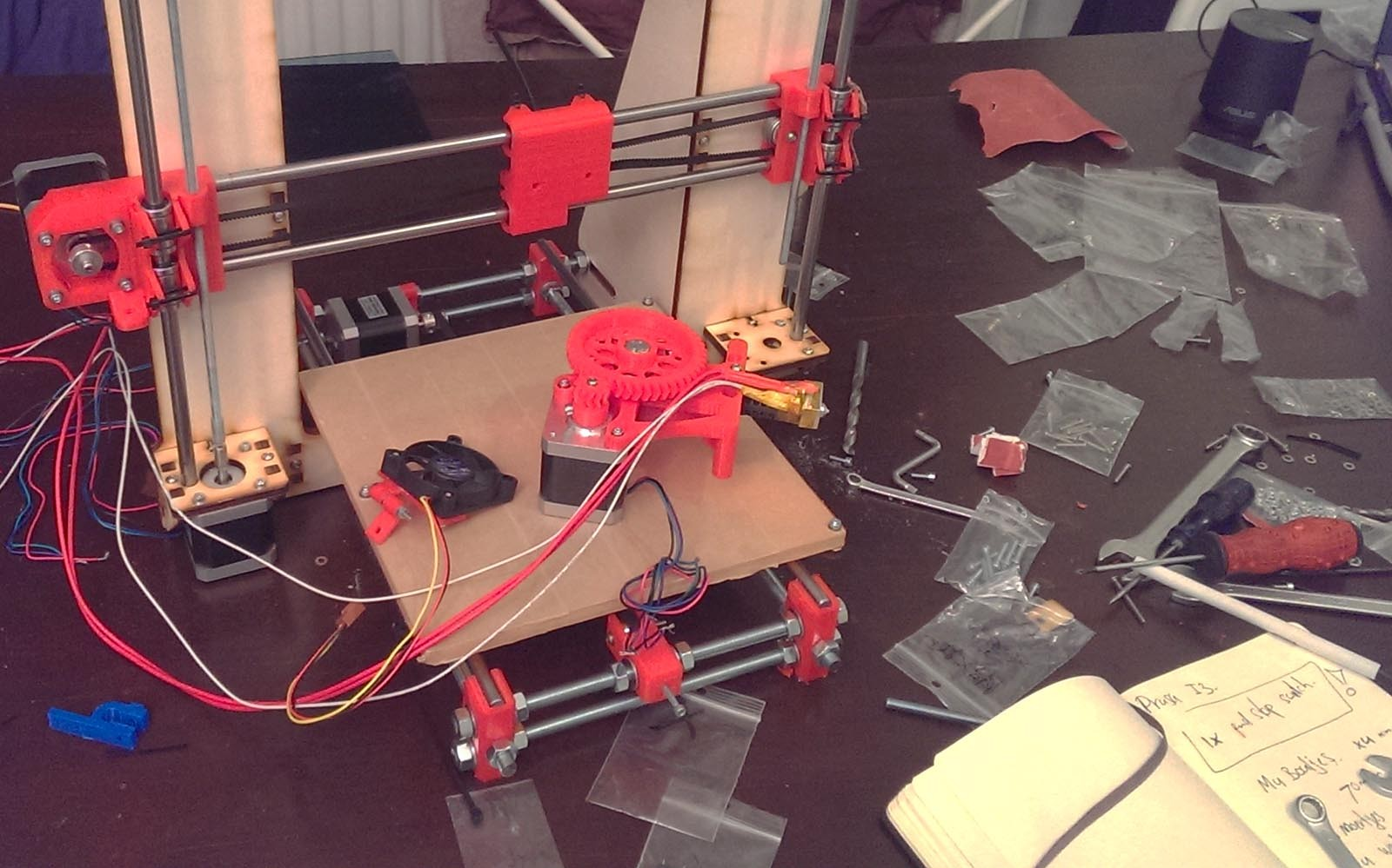 project - 3d printer - fearuters 5