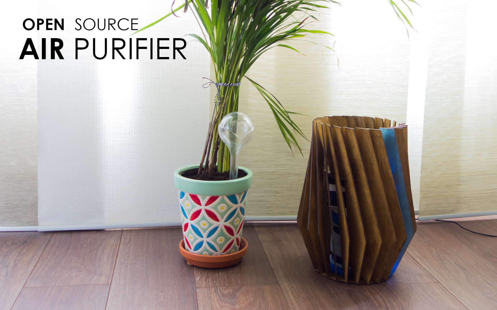 OPEN SOURCE AIR PURIFIER - Ian van Mourik 1