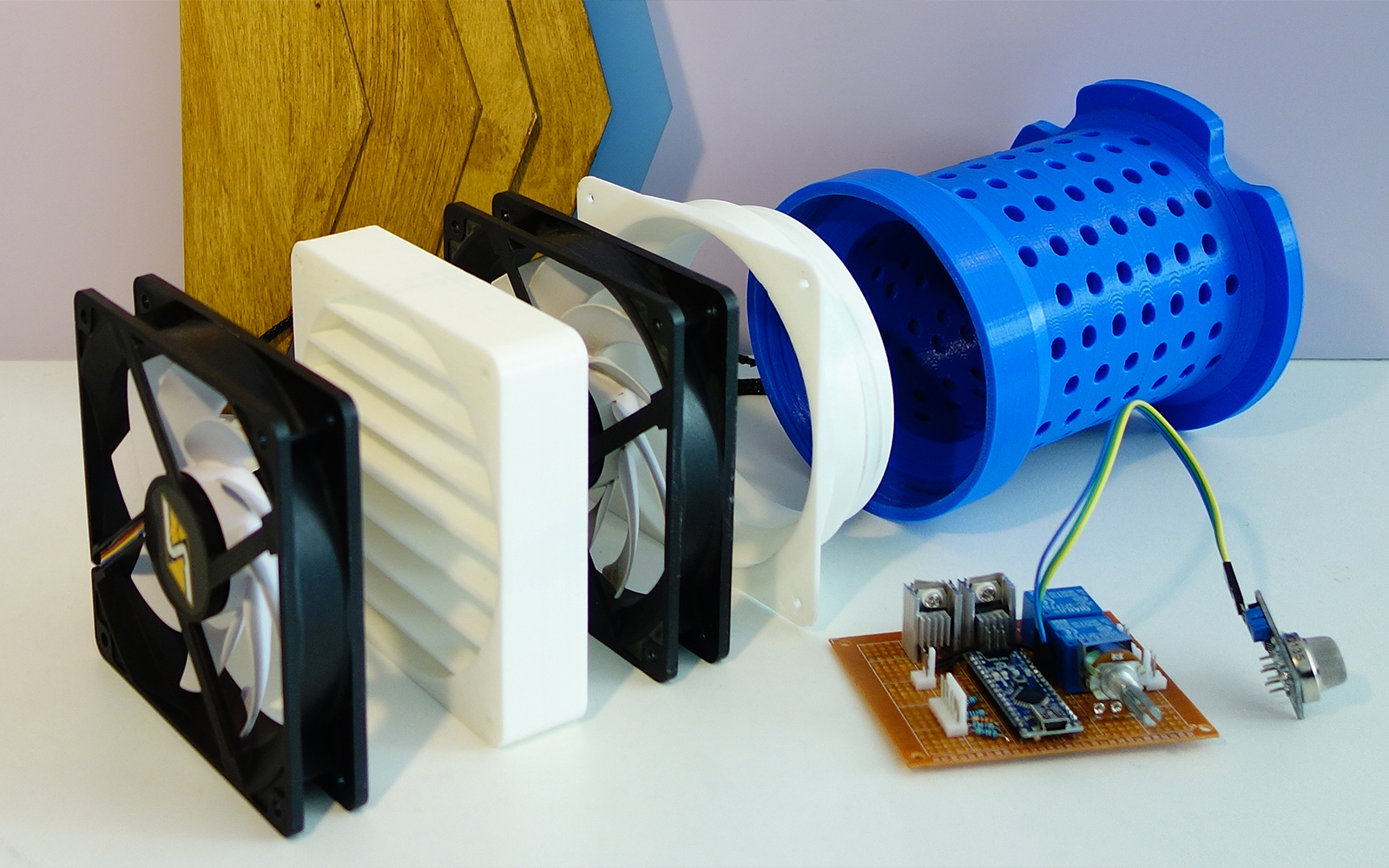 OPEN SOURCE AIR PURIFIER - Ian van Mourik 3